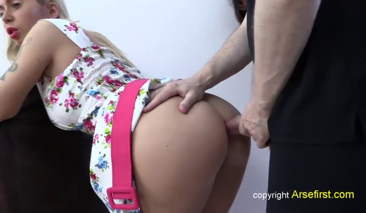 Our Bum Creampie Fuck Shoot Isabella Clark