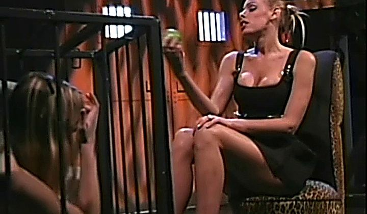 Nicole Sheridans Fetish Fantasy In Cage